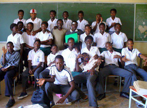 Teaching in Namibia