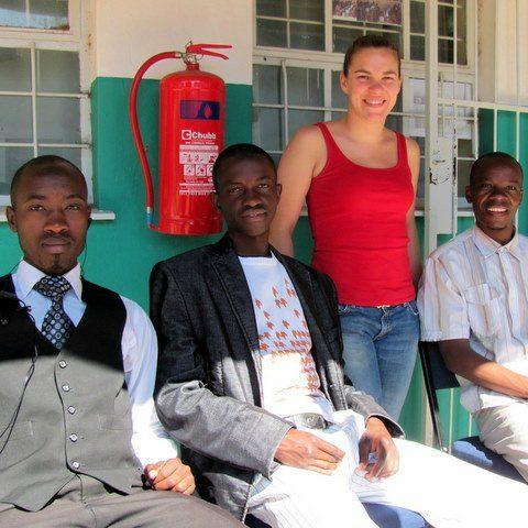 Teaching in Namibia!