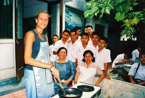 Cooking abroad