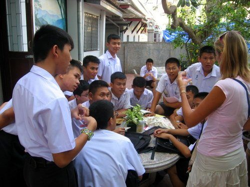 lesson in Thailand
