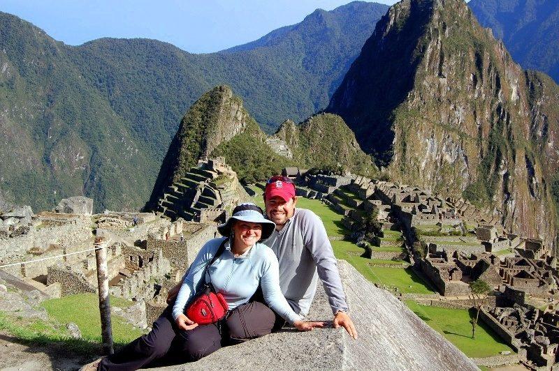 Adam (with Megan) at Machu Picchu, Peru!