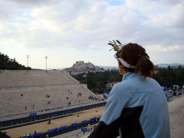 Olympic Stadium in Greece