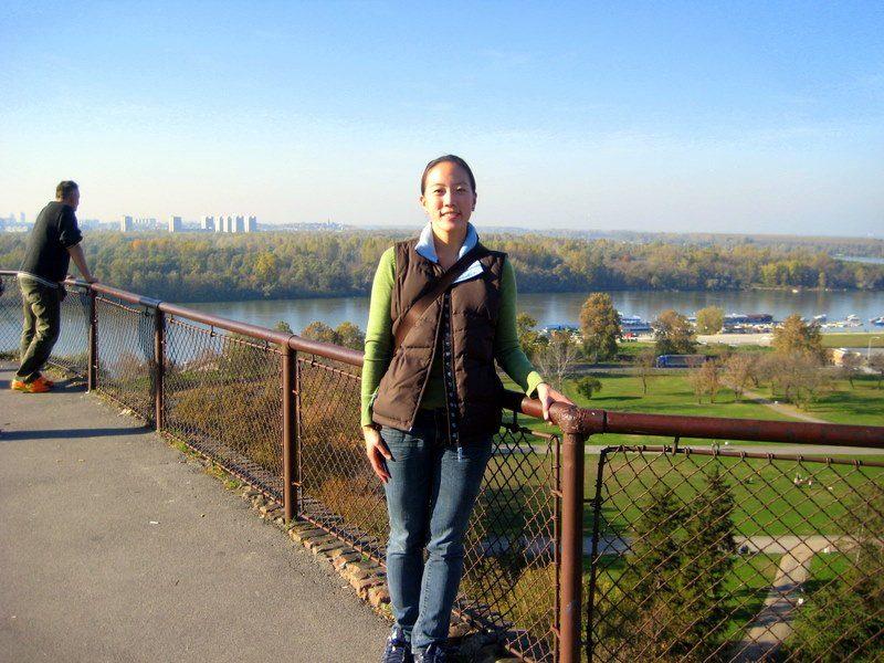 Danube River in Belgrade, Bulgaria