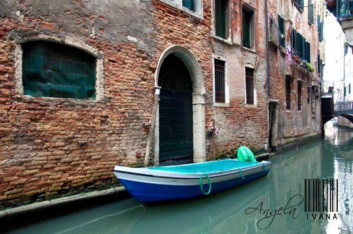 A beautiful scene in Venice, Italy.