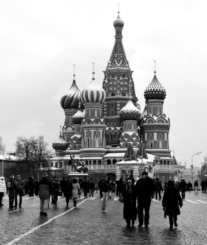 Winter in Red Square, Moscow. Oooh, Russia!