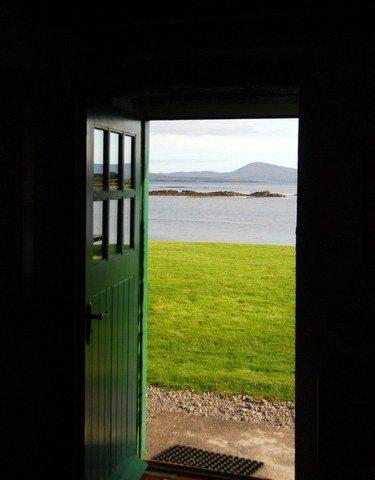 From Jessie's front door during travel in Kerry, Ireland!