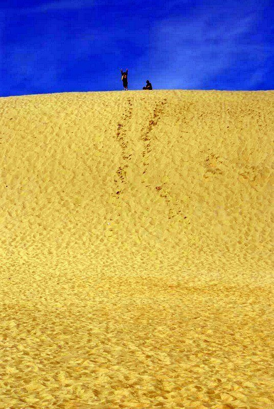 Jockey's Ridge State Park in the Outer Banks, NC.