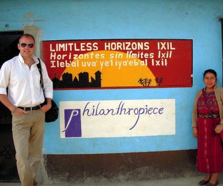 Jason and his Ixil translator, Maria, in Chajul, Guatemala.