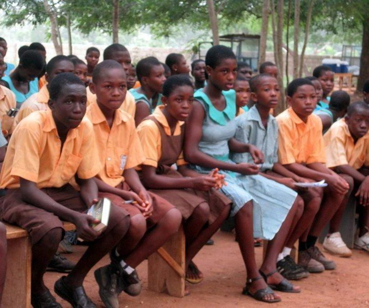 Sogakope students (not the bullies!)