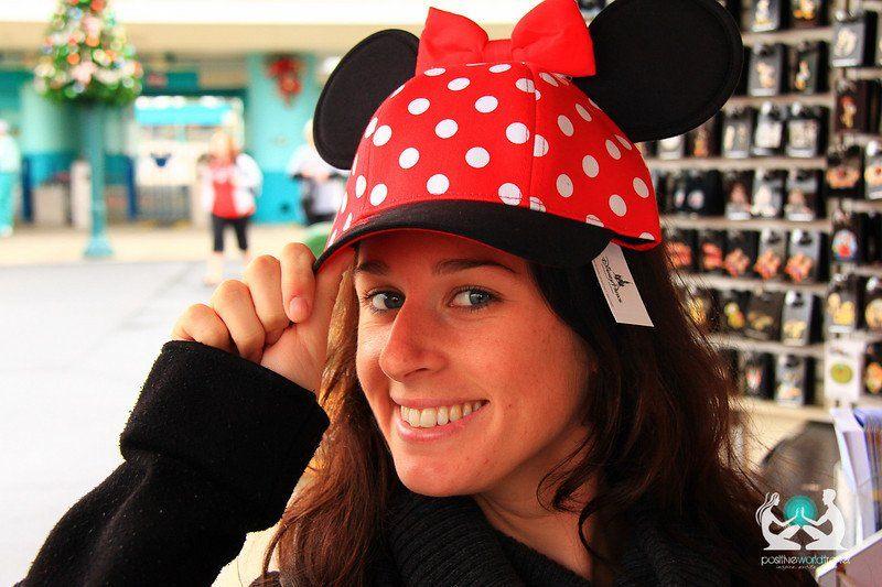 Elise and her inner child in Disney World, Orlando!