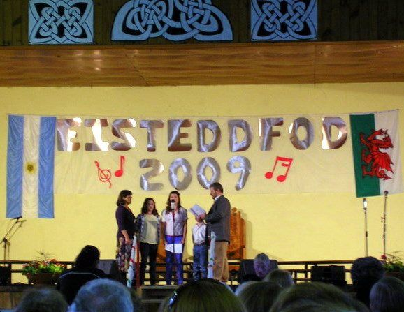 Welsh singing competition in the Welsh town of Trevelin, Patagonia, Argentina.