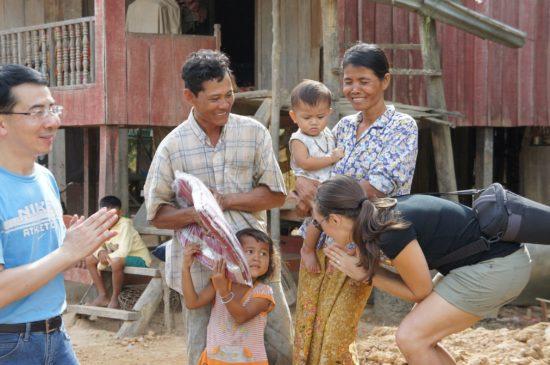 Homebuilding in Phnom Penh, Cambodia.