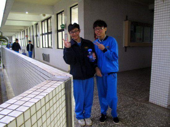 Two of Whitney's wonderful Taiwanese students, 2012.