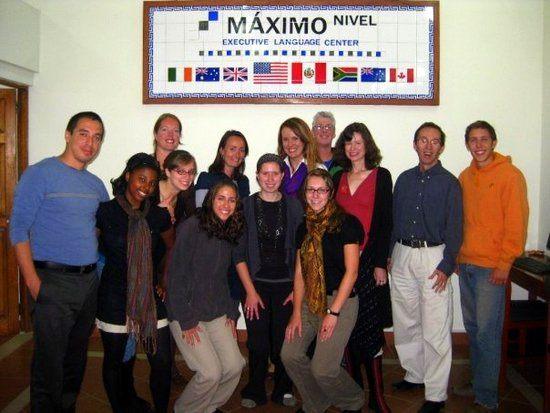 Alexa's TEFL Certification class in Peru.