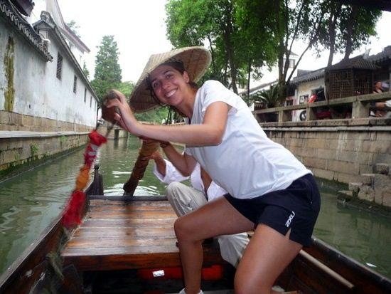 Alexa on a trip to Suzhou, the