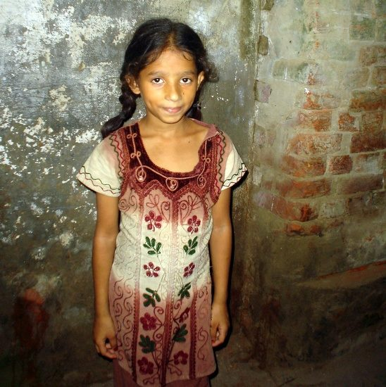 A Sweet Indian Girl.