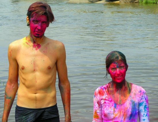 Holi, India's festival of colours.