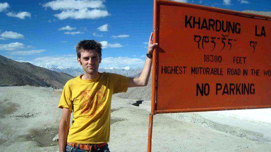 The world's highest road, Ladakh, India.
