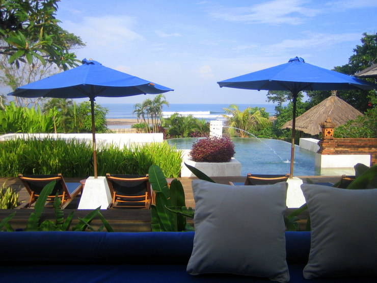 A gorgeous resort in Bali, Indonesia.
