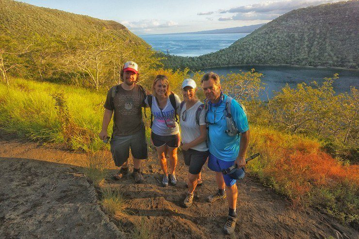 C.Hill and family, Galapagos.