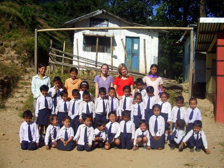 One of the branch schools in India. Does this volunteer position intrigue you?