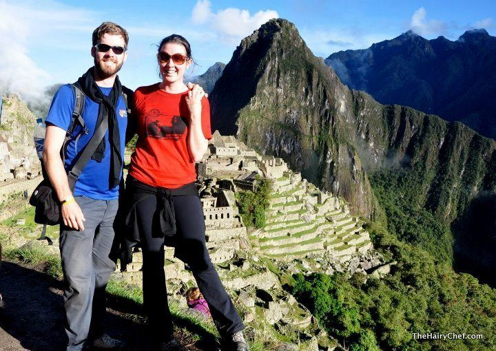 James at Machu Picchu during his many travels.