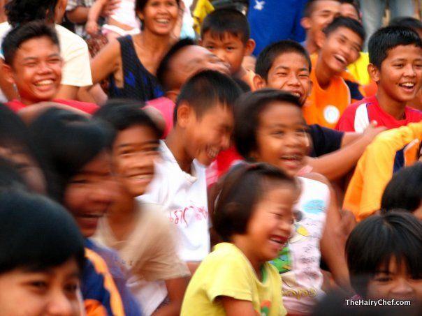 Smiles in Thailand!