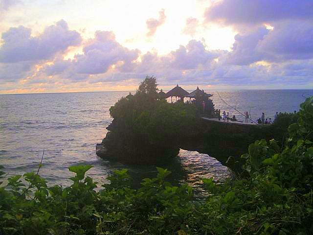 Emily's view of Bali on a vacation from Hong Kong teaching.