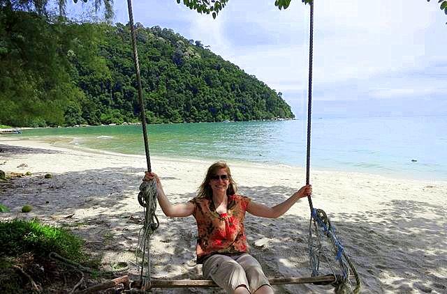 In Malaysia during vacation from Hong Kong. Paradise!