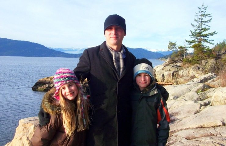 Mat's children gain a lot by living abroad.