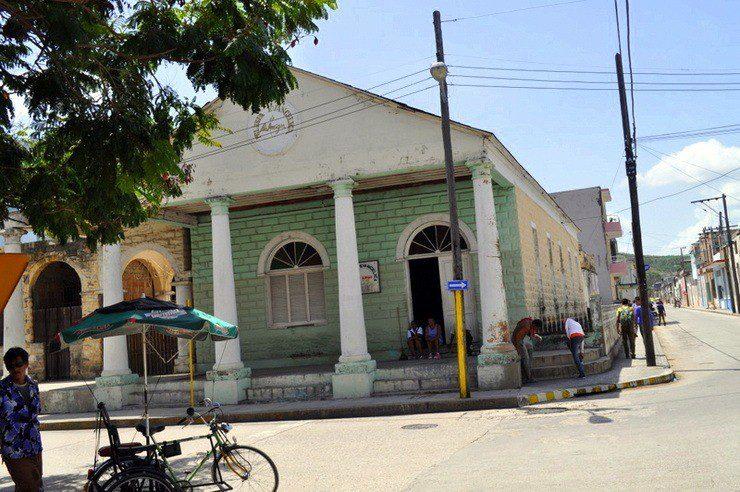 La Iglesia Evangelica de Los Amigos, the Quaker church in Holguin, Cuba.