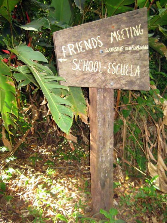 The Friends School and Meeting in Monteverde, Costa Rica.