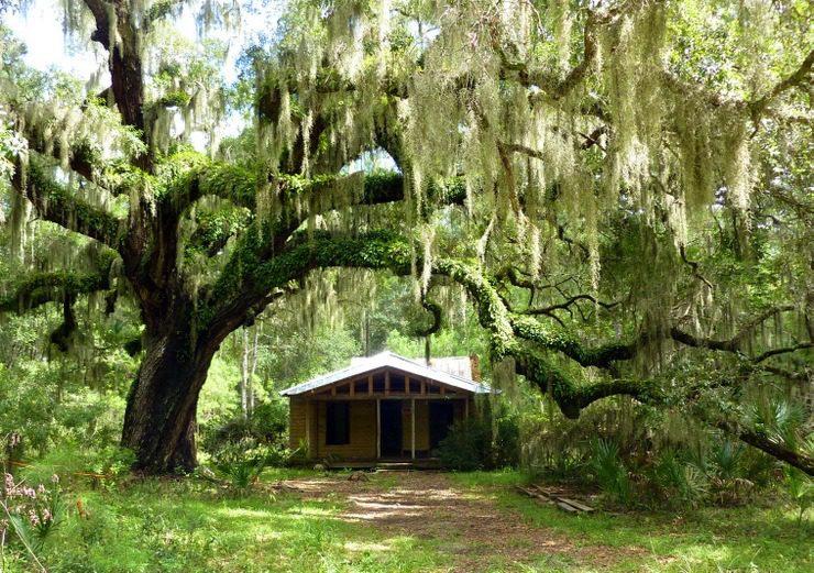 A traditional style house in Savannah, Georgia.