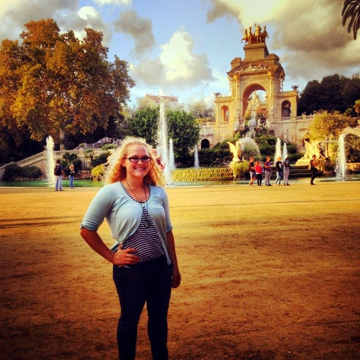 On a solo trip to Barcelona, Spain, during Dana's vacation, which lasted a week.