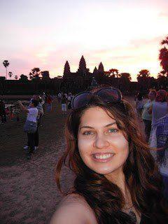 Sunrise at Angkor Wat, Cambodia.