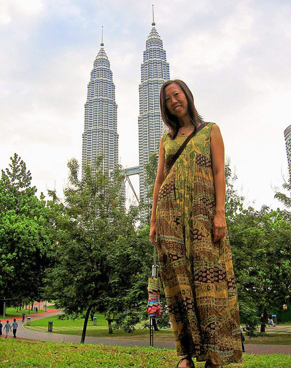 Lani in Kuala Lumphur, Malaysia.