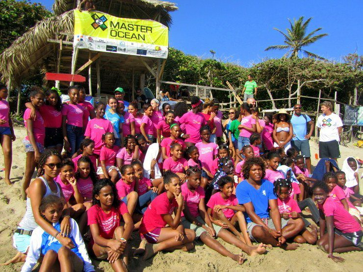 The Mariposa Girls in the Dominican Republic.