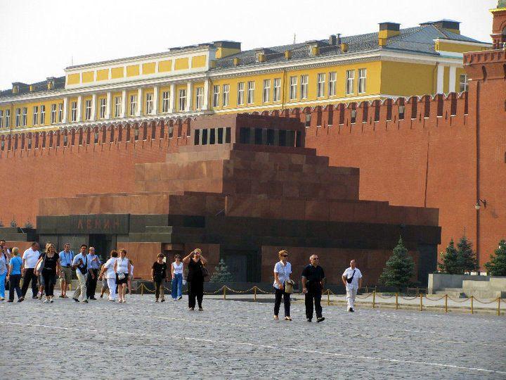 Lenin's Mausoleum.