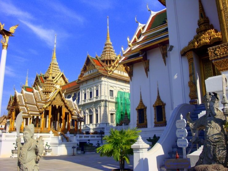 The beautiful temples of Thailand.