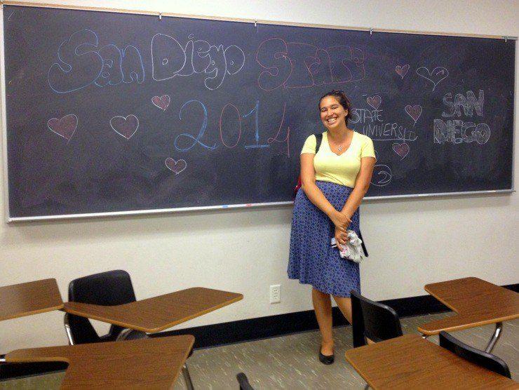 Carissa: An accomplished Teacher-Traveler!
