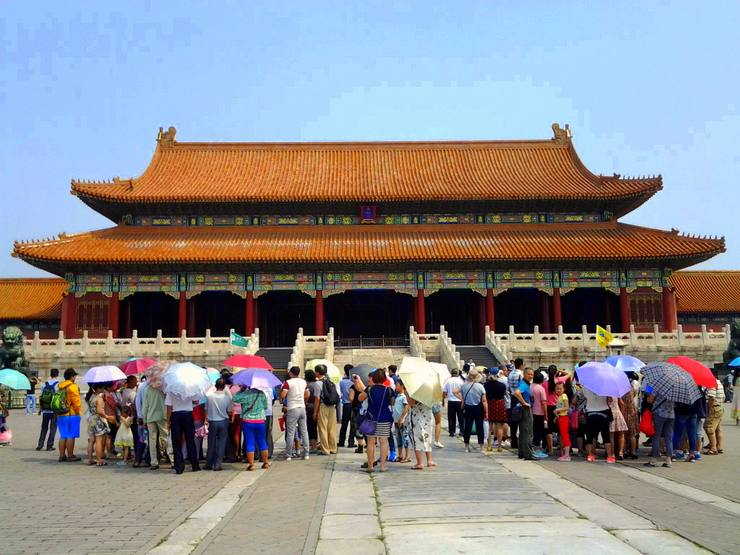 The Forbidden City. The sheer size of the City blew Candace away. She says her brain still can't comprehend it!