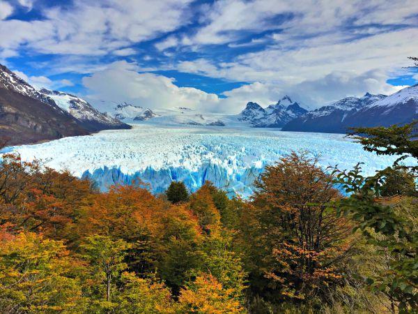 Perito Moreno Glacier in Patagonia, Argentina.