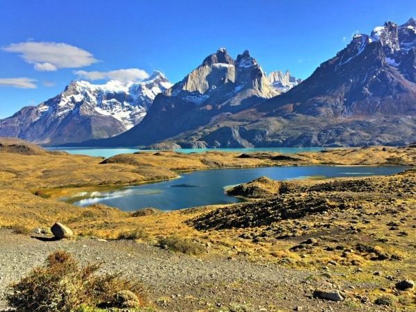 Stunning landscape in Torres del Paine, Patagonia. Where will YOU go next?
