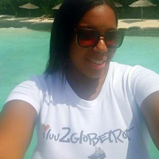 Nicole in the Maldives, summer of 2015.