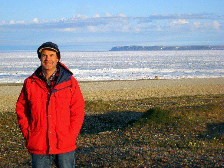 Michael on Cornwallis Island.