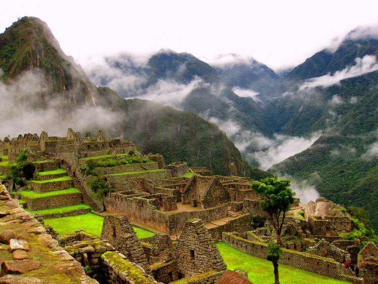 Visiting Machu Picchu on a 3 week backpacking trip after college graduation.