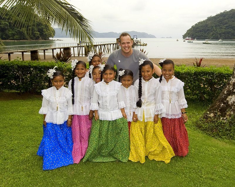 This traveling teacher has worked with students around the world.