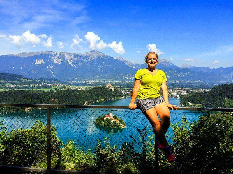 At Lake Bled, Slovenia.