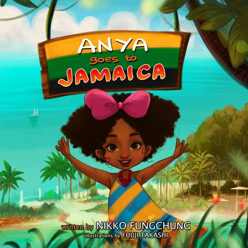 The first book is about visiting Jamaica.