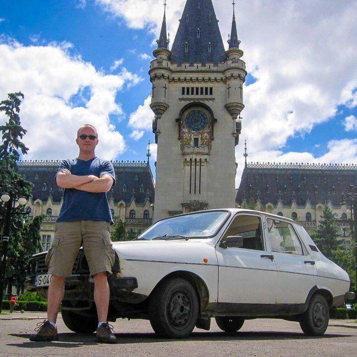 Leif, tracking down Dracula in Romania.